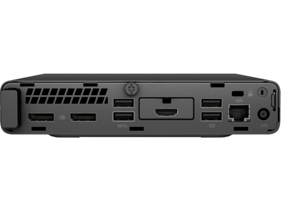 HP ProDesk 400 G4 Desktop Mini PC - Rear