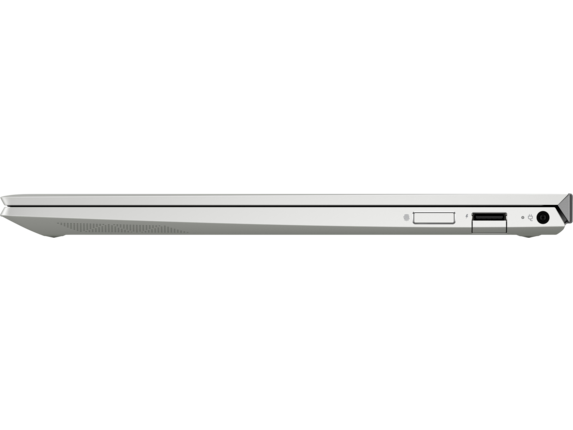 HP ENVY Laptop - 13t touch - Left profile closed|Natural Silver