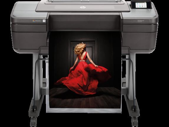HP DesignJet Z9+ 24-in PostScript Printer - Center