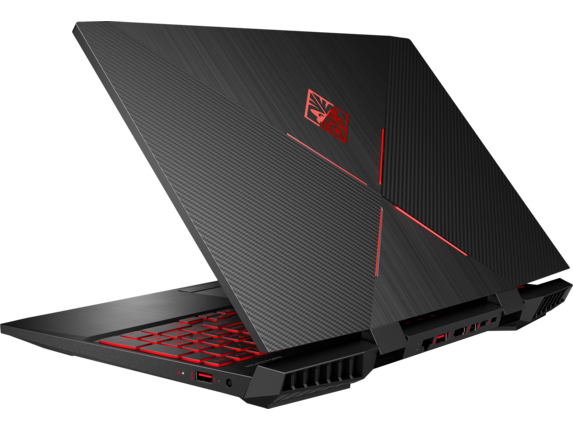 OMEN Laptop - 15t - Left rear |Shadow Black