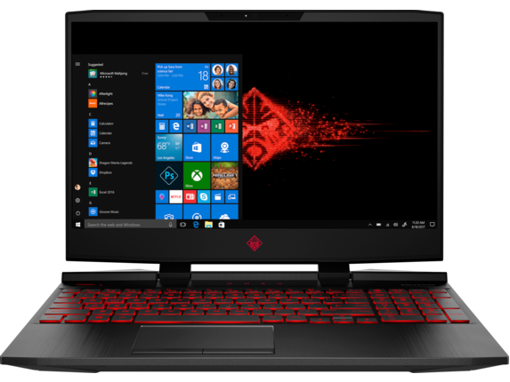 "HP Omen 15t 15.6"" Laptop (Hex i7-8750H / 32GB / 1TB+128GB / 8GB Video)"