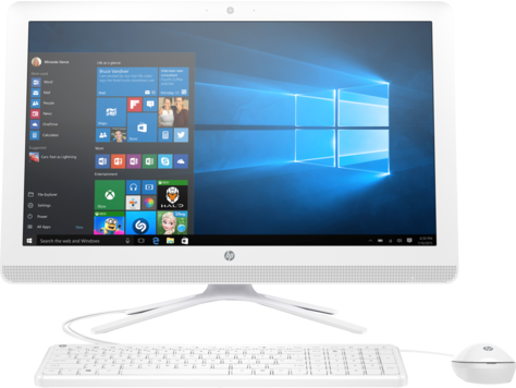 Desktop HP All-in-One serie 22-b000