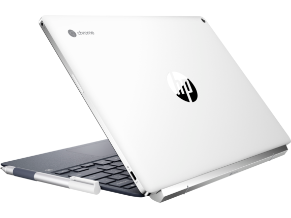 HP Chromebook x2 - 12-f015nr - Left rear