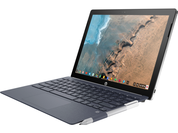 HP Chromebook x2 - 12-f015nr - Left