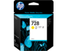 HP 728 40-ml Yellow DesignJet Ink Cartridge - Center