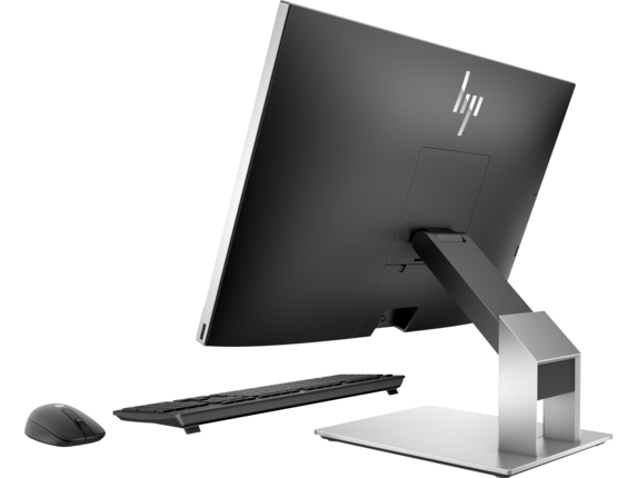 HP EliteOne 800 G4 23.8-inch Touch GPU All-in-One PC - Left rear
