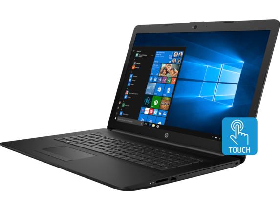 HP 17t Laptop - 8th Generation Intel - touch optional - Left
