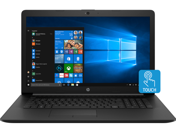 HP 17t Laptop - 8th Generation Intel - touch optional - Center