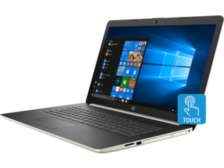 HP 17t Laptop - 8th Generation Intel - touch optional