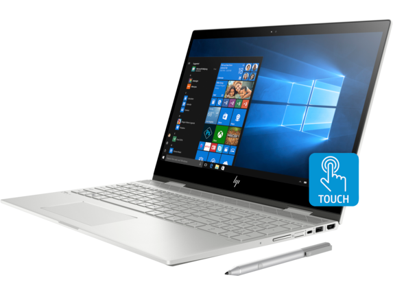 HP ENVY x360 Laptop - 15t touch - Left