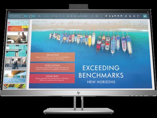 צג עגינה HP EliteDisplay E243d בגודל 23.8 אינץ'