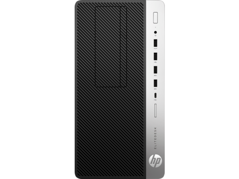 HP EliteDesk 705 G4-Microtower-PC