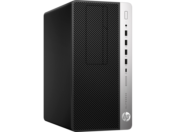 HP EliteDesk 705 G4 Microtower PC - Right