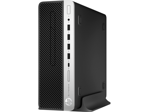 HP EliteDesk 705 G4 Small Form Factor PC - Customizable - Left