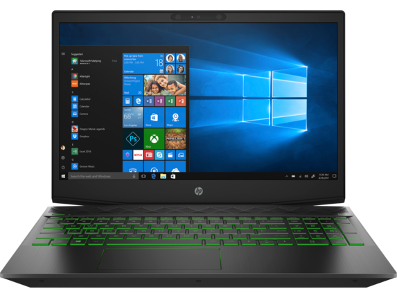HP Gaming Pavilion - 15-cx0071nr - Center