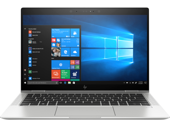 HP EliteBook x360 1030 G3 Notebook PC - Customizable - Center