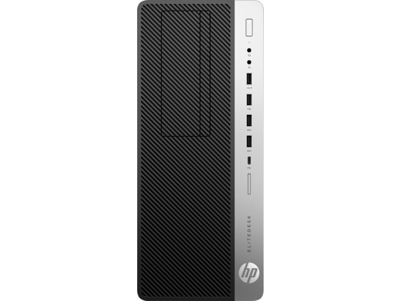 HP EliteDesk 800 G4 Tower PC - Center