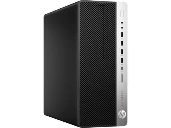 HP EliteDesk 800 G4 Tower PC - Right