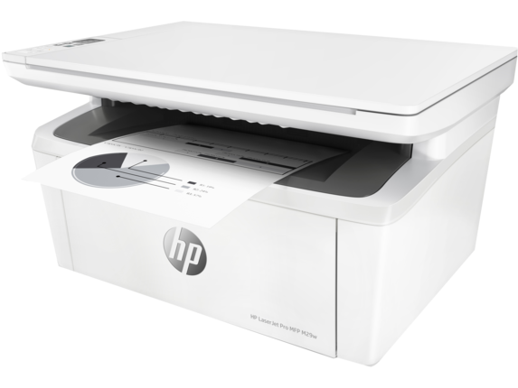 HP LaserJet Pro MFP M29w Printer - Left