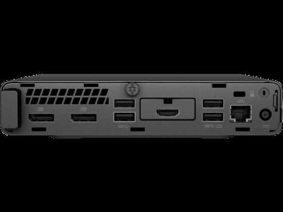 HP ProDesk 600 G4 Mini PC - Customizable - Rear