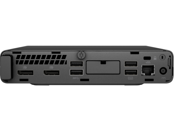HP EliteDesk 800 35W G4 Desktop Mini PC - Rear