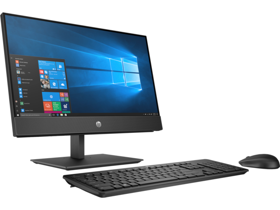 HP ProOne 600 G4 21.5-inch Touch All-in-One Business PC - Right