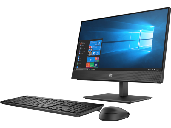 HP ProOne 600 G4 21.5-inch Touch All-in-One Business PC - Left