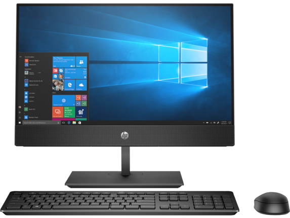 HP ProOne 600 G4 21.5-inch Touch All-in-One Business PC - Center