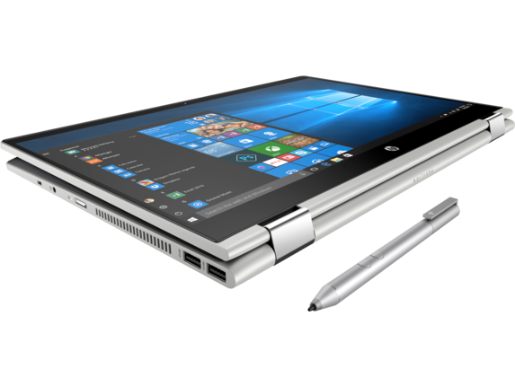 HP Pavilion x360 Convertible Laptop - 15t - Top view closed
