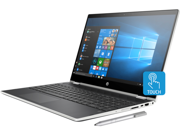 HP Pavilion x360 - 15-cr0011nr - Left