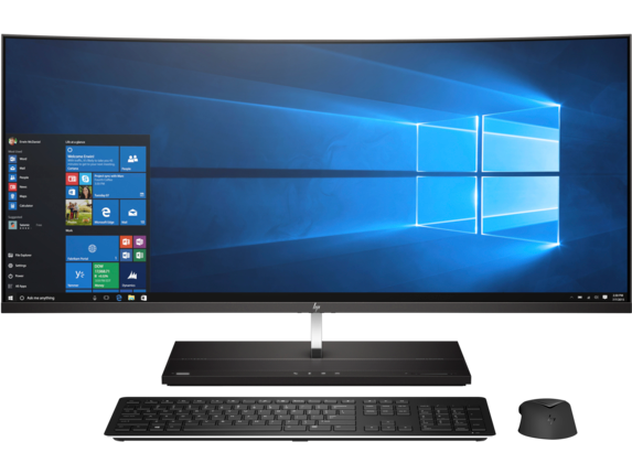 HP EliteOne 1000 G2 34-in Curved All-in-One Business PC - Center