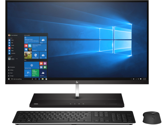 HP EliteOne 1000 G2 27-in 4K UHD All-in-One Business PC - Center