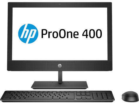 HP ProOne 400 G4 20 inch All-in-One Business-pc zonder touch