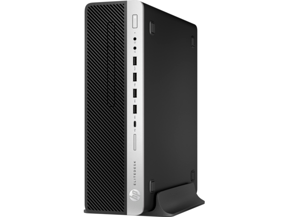 HP EliteDesk 800 G4 Small Form Factor PC - Customizable - Left