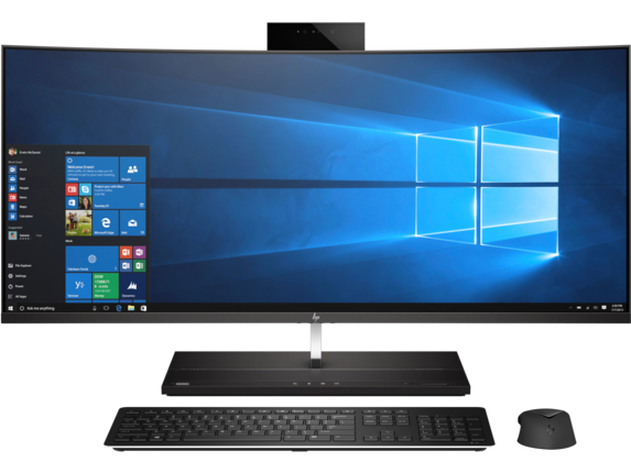HP EliteOne 1000 G2 34-in Curved WQHD All-in-One Business PC - Customizable - Center