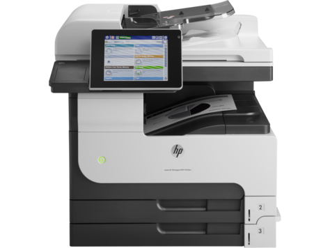 HP LaserJet Managed MFP M725 系列