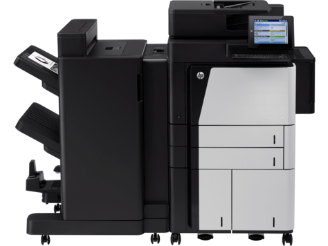 HP LaserJet Managed Flow MFP M830 series