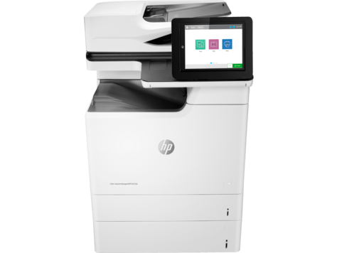 סדרת HP Color LaserJet Managed MFP E67550‎