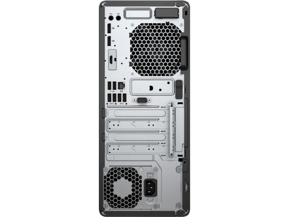 HP EliteDesk 800 G4 Tower PC - Rear