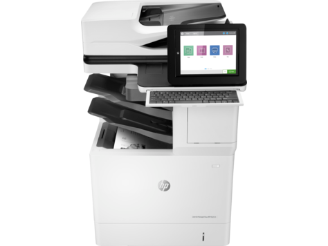 HP LaserJet Managed MFP E62575 series