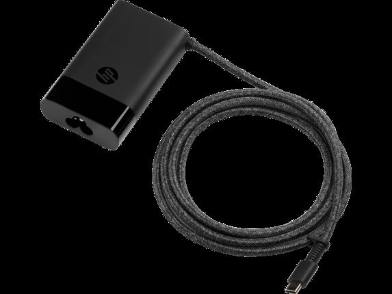 HP 65W USB-C Slim Travel Power Adapter|3PN48UT#ABA