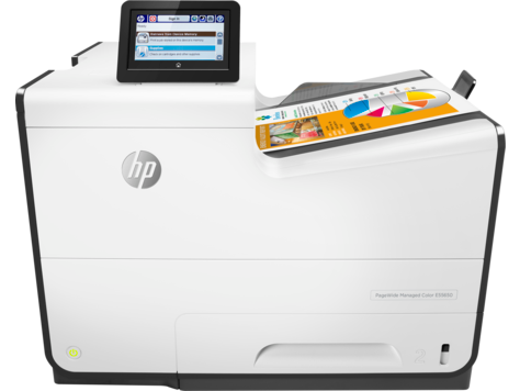 Gamme d'imprimantes HP PageWide Managed Color 556