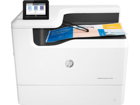 Gamme d'imprimantes HP PageWide Managed Color P75250