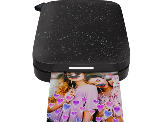 HP Sprocket 2nd Edition Photo Printer - Center |Noir Black
