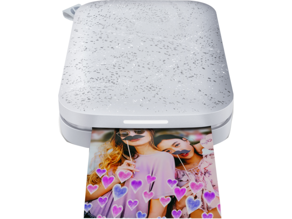 HP Sprocket 2nd Edition Photo Printer​ - Center |Echo White