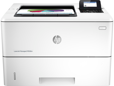 Серия HP LaserJet Managed M506