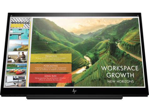HP EliteDisplay S14 14-inch draagbaar display
