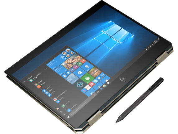 HP Spectre x360 Laptop - 13t touch - Top view closed