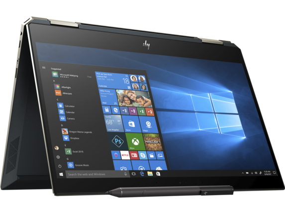 HP Spectre x360 Laptop - 13t touch - Right rear