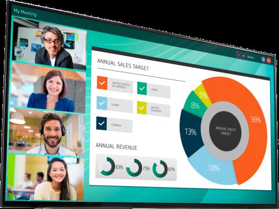 HP LD5512 4K UHD Conferencing Display